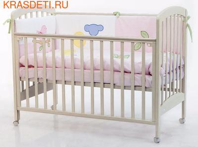 Кроватка 120x60 Fiorellino Dalmatina (фото, вид 1)
