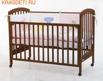 Кроватка 120x60 Fiorellino Dalmatina (фото, вид 3)