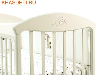 Кровать Fiorellino Pu (Фиореллино Пу) 120*60 ivory (фото, вид 3)