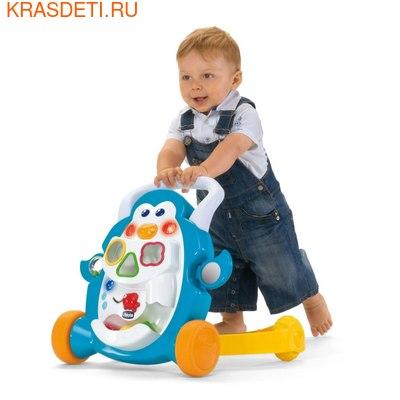 """Игрушка-каталка CHICCO """"Первые шаги: Пингвин"""" 9+ (фото, вид 2)"""