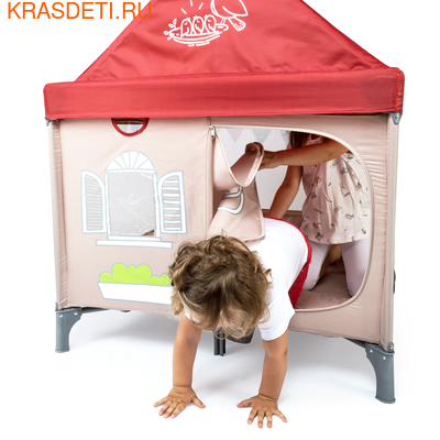 Манеж-домик Happy Baby Alex Home (фото, вид 4)
