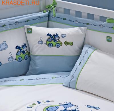 Funnababy Комплект постельного белья Leo Teo 120x60 5 предметов (фото, вид 1)