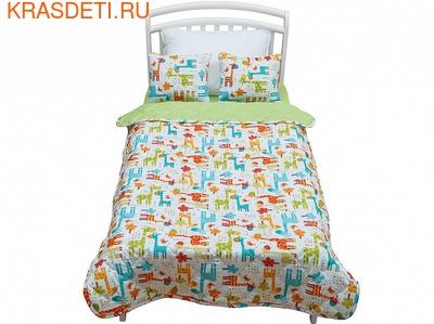 Giovanni Покрывало с подушками в кровать для дошкольников (3 предмета) Safari Kids (фото, вид 1)