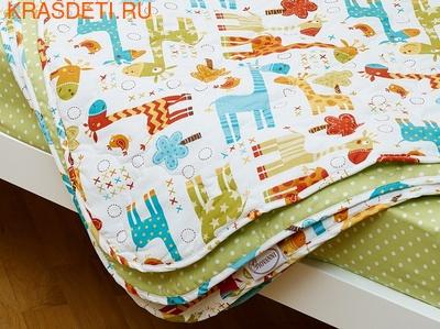 Giovanni Покрывало с подушками в кровать для дошкольников (3 предмета) Safari Kids (фото, вид 3)