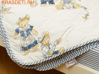 Giovanni Покрывало с подушками в кровать для дошкольников (3 предмета) Orsetto kids (фото, вид 1)