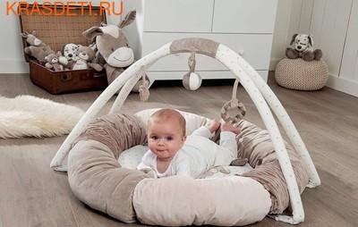Развивающий игровой коврик круглый Nattou (фото, вид 4)