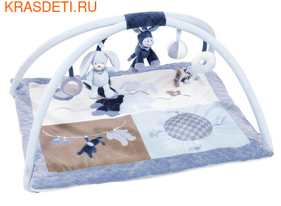 Развивающий игровой коврик Nattou (фото, вид 1)