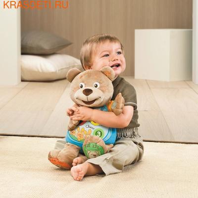 """Интерактивная мягкая игрушка Chicco """"Мишка"""" (свет, звук), 37 см (фото, вид 1)"""