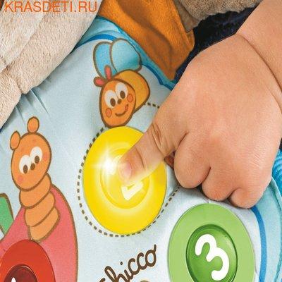"""Интерактивная мягкая игрушка Chicco """"Мишка"""" (свет, звук), 37 см (фото, вид 2)"""