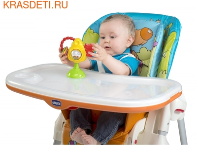 """Игрушка для стульчика Chicco """"Мышка с сыром и крекерами"""" (фото, вид 2)"""
