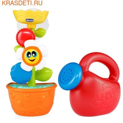 """Игрушка для ванны Chicco """"Лейка с цветком"""" (фото, вид 1)"""
