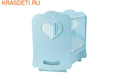 """Лель Кровать с поперечным маятником """"Baby Sleep-2"""" Мишки (фото, вид 2)"""