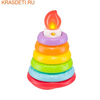 """Happy Baby Музыкальная пирамидка HAPPY BABY """"Happy Cake"""" (фото, вид 1)"""