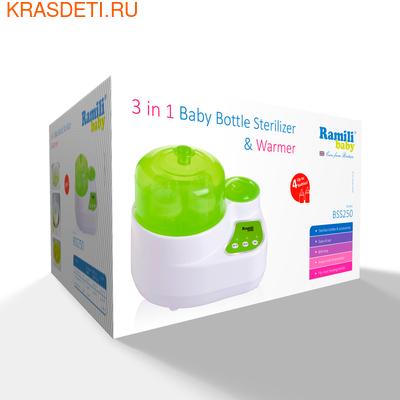 Ramili Стерилизатор-подогреватель бутылочек и детского питания 3 в 1 BSS250 (универсальный) (фото, вид 1)