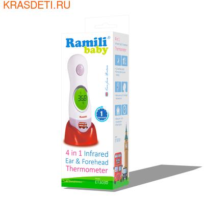 Ramili Инфракрасный ушной и лобный термометр (4 в 1) ET3030 (фото, вид 1)