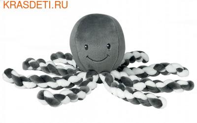 Мягкая игрушка Nattou Soft Toy Octopus Осьминог (фото, вид 2)