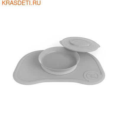 Коврик Twistshake Click Mat с тарелкой (фото, вид 1)