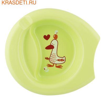 Chicco Тарелка Easy Feeding Bowl 6м+ (фото, вид 1)