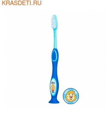 Chicco Зубная щетка с присоской 3- 6 лет (фото, вид 1)