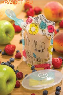 Happy Baby Пакеты для хранения детского питания (5шт) (фото, вид 1)