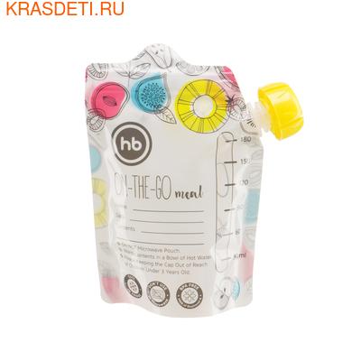 Happy Baby Пакеты для хранения детского питания (5шт) (фото, вид 3)