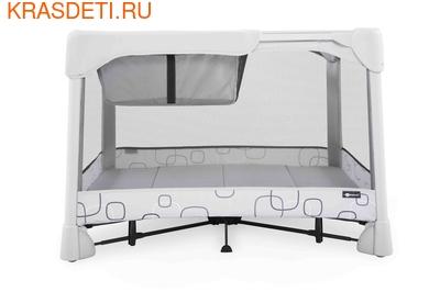Манеж-кровать 4 moms Breeze Classic серый (фото, вид 1)