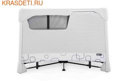 Манеж-кровать 4 moms Breeze Classic серый (фото, вид 2)