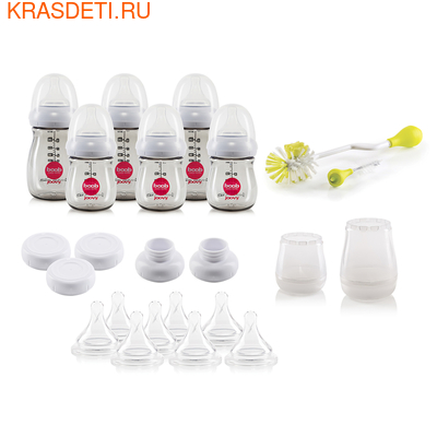 Joovy Подарочный набор Boob Baby PPSU (23 предмета) (фото, вид 1)