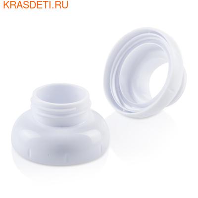 Адаптер для молокоотсоса для стеклянной бутылочки Joovy (2шт.) (фото, вид 1)