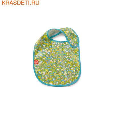 Нагрудник на липучке WATER-PROOF BABY BIB Happy Baby (фото, вид 2)