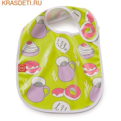 Нагрудник на липучке WATER-PROOF BABY BIB Happy Baby (фото, вид 3)