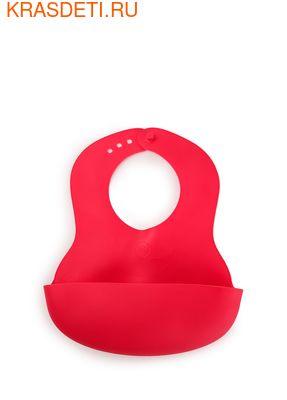 Мягкий пластиковый нагрудник BABY PLASTIC BIB Happy Baby (фото, вид 2)