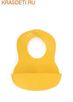Мягкий пластиковый нагрудник BABY PLASTIC BIB Happy Baby (фото, вид 3)
