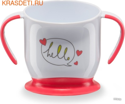 Happy Baby BABY CUP WITH SUCTION BASE (фото, вид 1)