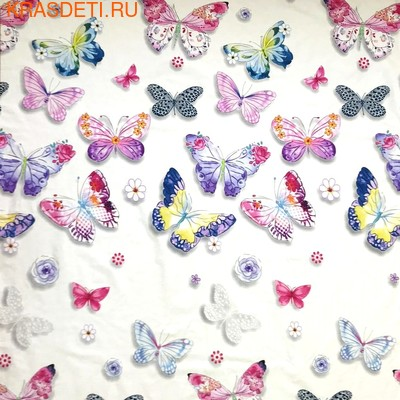 Giovanni Покрывало с подушками в кровать для дошкольников (3 предмета) Butterfly (Shapito by Giovanni ®) (фото, вид 2)