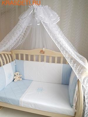 EcoLine Fabric Набор в кроватку Odelis, 9 предметов (фото, вид 3)