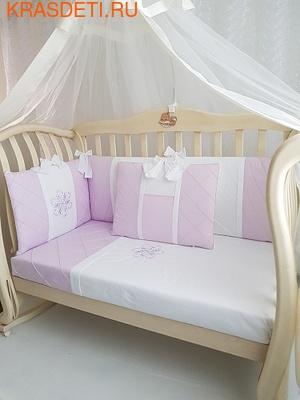 EcoLine Fabric Набор в кроватку Odelis, 9 предметов (фото, вид 6)
