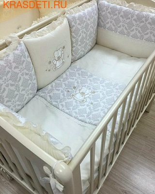 Eco-Line Набор в кроватку для новорожденных ПАЛЛЕТО (6 подушек) (фото, вид 1)