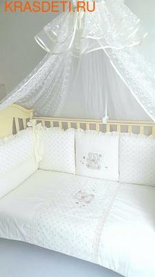 Eco-Line Набор в кроватку для новорожденных ПАЛЛЕТО (6 подушек) (фото, вид 2)