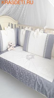 Eco-Line Набор в детскую кроватку для новорожденных - Сочная Пудра 11пр (фото, вид 2)