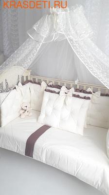 Eco-Line Набор в кроватку Cherry Flower (фото, вид 1)