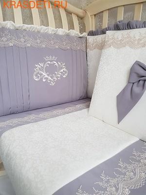 """Eco-Line Набор в кроватку для новорожденного """"Madrid"""" 11предметов (фото, вид 1)"""