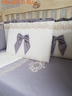 """Eco-Line Набор в кроватку для новорожденного """"Madrid"""" 11предметов (фото, вид 2)"""