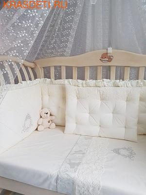 Eco-Line Набор в кроватку для новорожденных MARGARET 11пр (фото, вид 1)