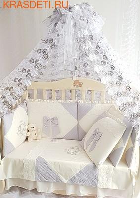 Eco-Line Набор в кроватку для новорожденных Alicia (фото, вид 1)