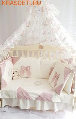 Eco-Line Набор в кроватку для новорожденных Alicia (фото, вид 2)