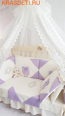 Eco-Line Набор в кроватку для новорожденных Alicia (фото, вид 3)