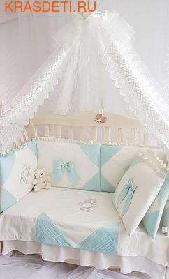 Eco-Line Набор в кроватку для новорожденных Alicia (фото, вид 4)