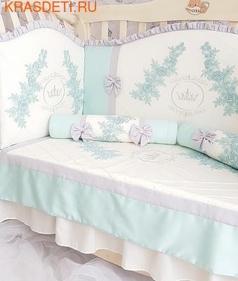 Eco-Line Набор в кроватку для новорожденных Angelica. 10 пр. (фото, вид 1)