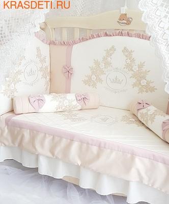 Eco-Line Набор в кроватку для новорожденных Angelica. 10 пр. (фото, вид 2)